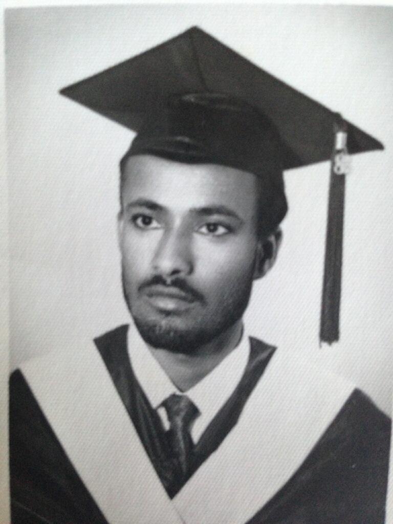 the late Dr Assefa Taye